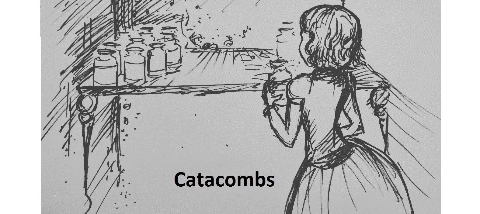 Catacombs – Inktober