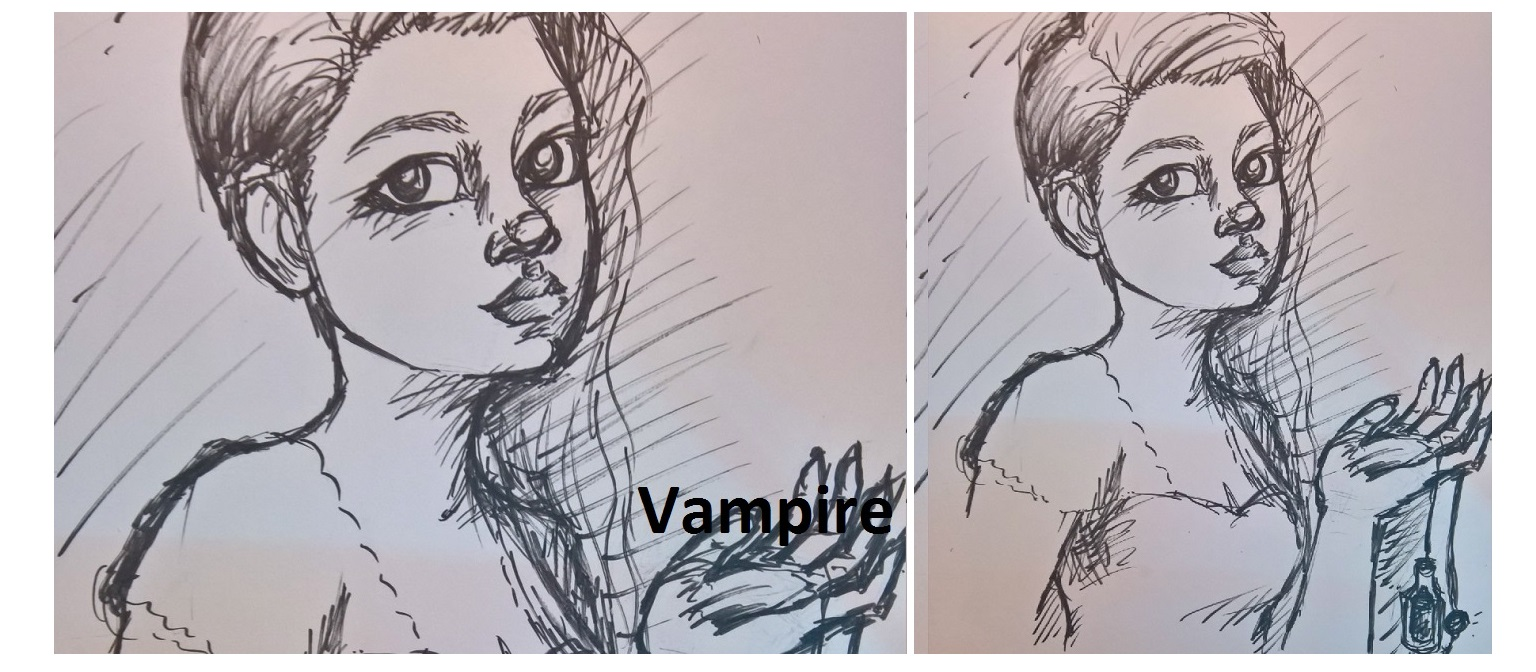 Vamp – Inktober