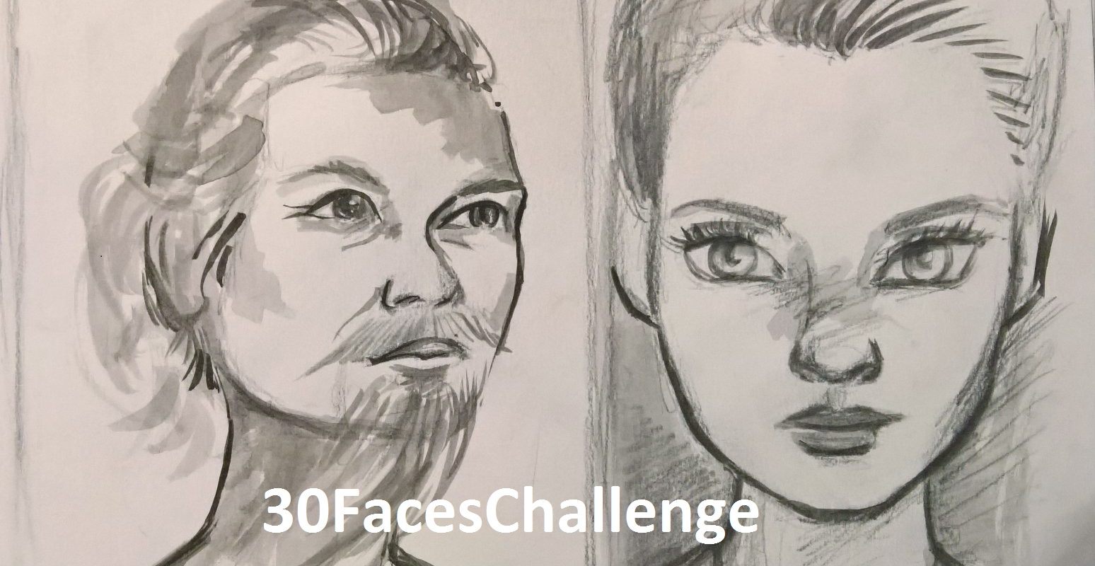 30 Faces Challenge/Sketch